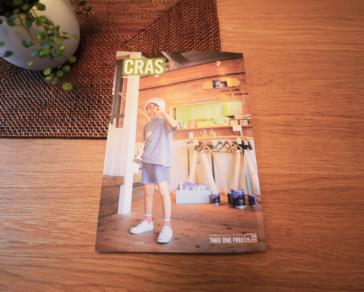 新潟のフリーペーパー 「 CRAS [クラス] 」に掲載頂きました。